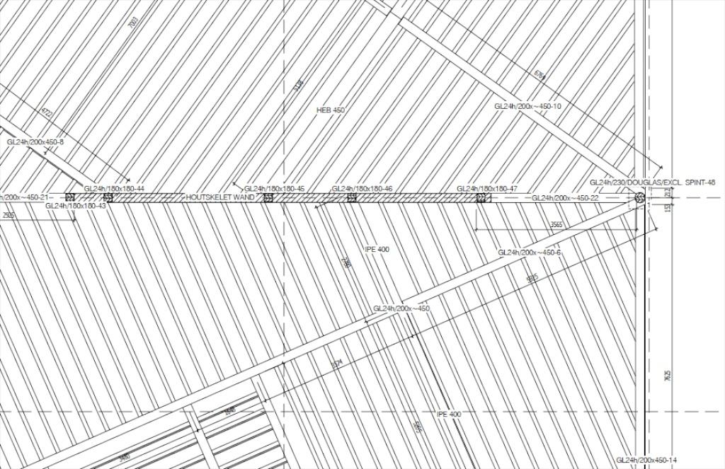 B timent tamedia zurich 7 tages en structure bois for Batiment structure bois