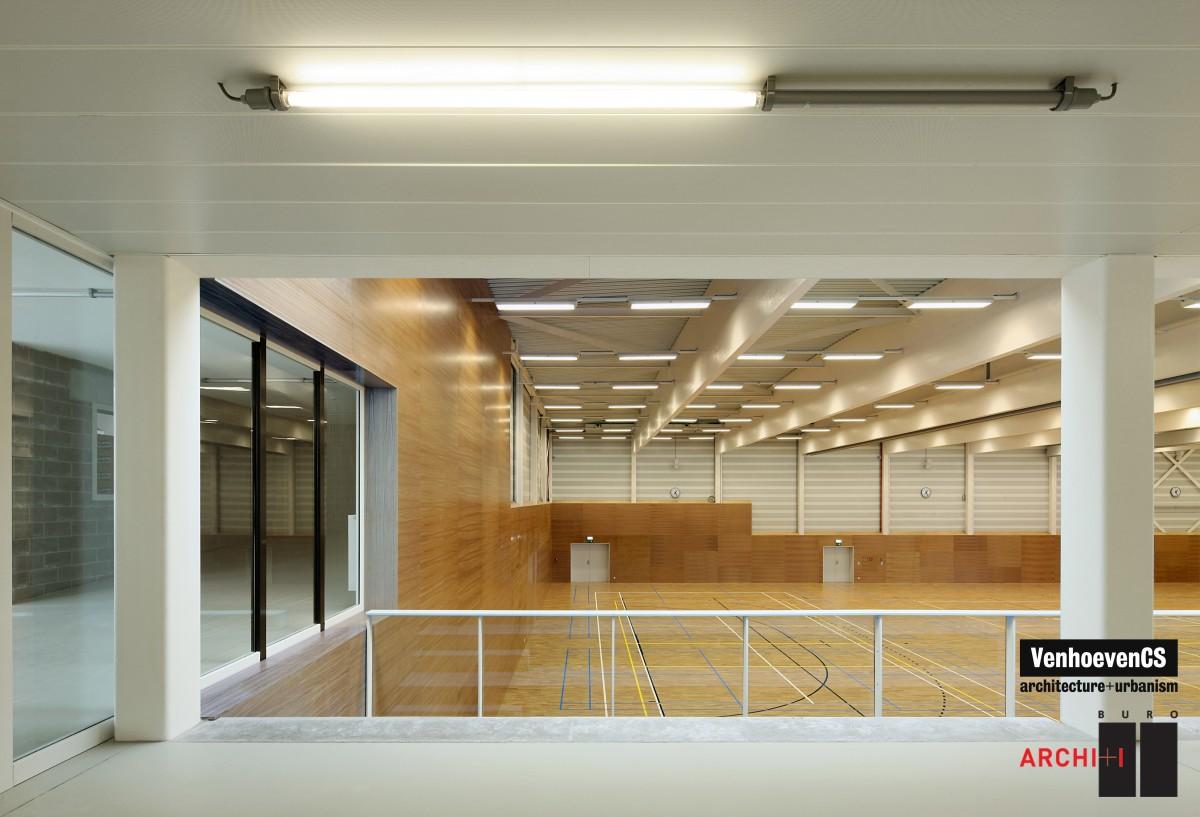 salle de sport warande bureau d 39 tudes bois. Black Bedroom Furniture Sets. Home Design Ideas