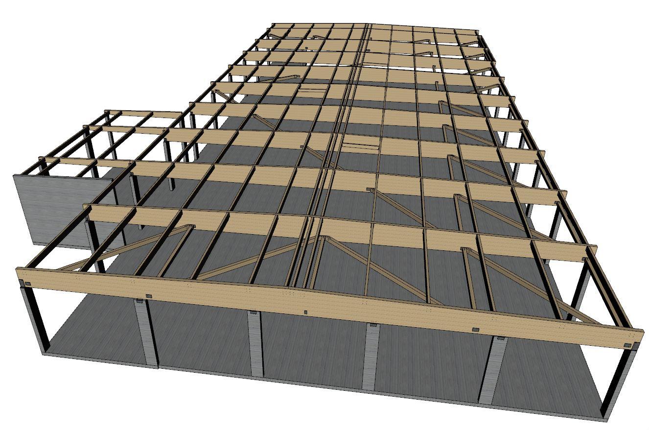 Aldi marquise bureau d 39 tudes bois for Structure de bois