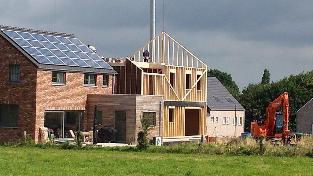 4 maisons en ossature bois à thorembais st trond u2013 bureau détudes bois