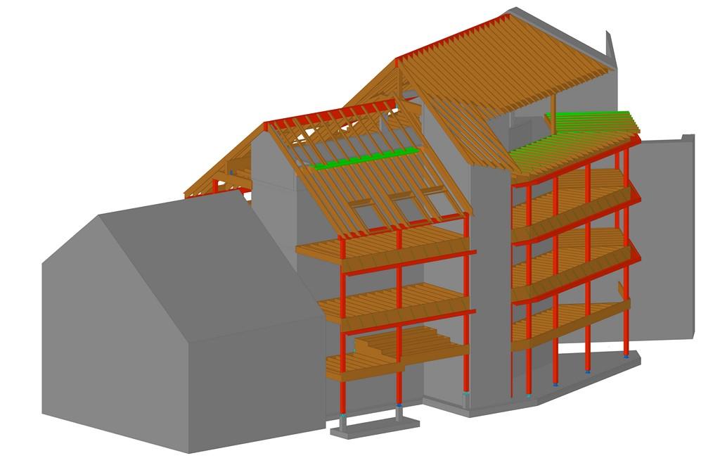 immeuble bodart bureau d 39 tudes bois. Black Bedroom Furniture Sets. Home Design Ideas